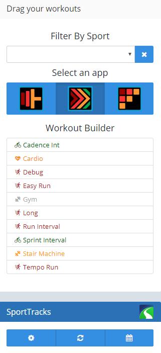 Genius Wrist - Training Calendar